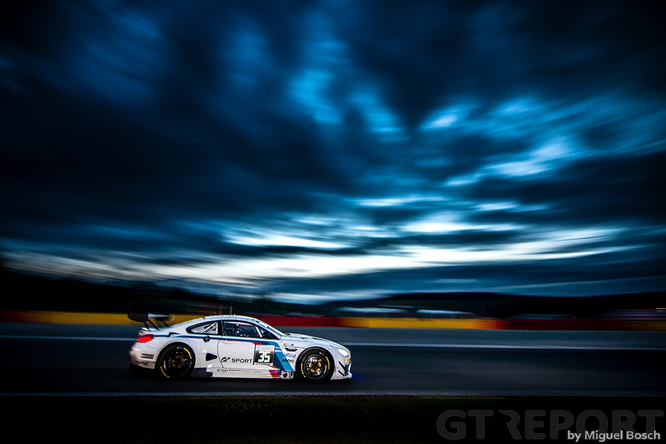 2017 Blancpain GT Spa 25 Miguel Bosch GT REPORT