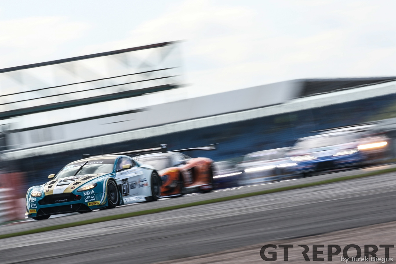 Oman Racing Team with TF Sport | Aston Martin V12 GT3 | Ahmad Al Harthy | Jonny Adam | Blancpain GT Series Endurance Cup | Silverstone Circuit | 14 May 2017 | Photo by Jurek Biegus.
