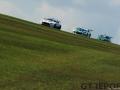 Chris Murphy & Matt George | Whitebridge Aston Martin Vantage GT4 | Simon Rudd & Tom Barley | Team Hard Racing Ginetta G55 GT4 | Britcar Dunlop Endurance Championship | Donington Park | Photo: Jurek Biegus