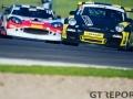 Mark Cunningham & Peter Cunningham | SG Racing Porsche 997 Cup | Edward Moore & Marmaduke Hall | Tockwith Motorsport Ginetta G50 | Britcar Dunlop Endurance Championship | Donington Park | Photo: Jurek Biegus