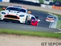 Chris Murphy & Matt George | Whitebridge Aston Martin Vantage GT4 | Britcar Dunlop Endurance Championship | Donington Park | Photo: Jurek Biegus