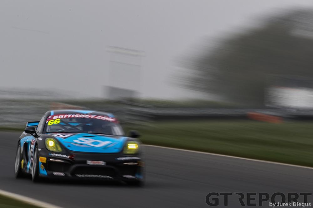 Team Parker Racing | Porsche Cayman GT4 Clubsport MR | Nick Jones | Scptt Malvern | British GT Media Day | 28 March 2017 | Photo: Jurek Biegus