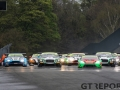 The start of race 2 | British GT Championship | Oulton Park | 17 April 2017 | Photo: Jurek Biegus