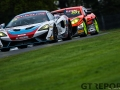 In2Racing | McLaren 570S GT4 | Marcus Hoggarth | James Birch | PMW Expo Racing / Optimum Motorsport | Ginetta G55 GT4 | Graham Johmson | British GT Championship | Oulton Park | 17 April 2017 | Photo: Jurek Biegus