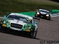 Team Parker Racing | Bentley Continental GT3 | Rick Parfitt | Seb Morris | British GT Championship | Rockingham Motor Speedway | 30 April 2017 | Photo: Jurek Biegus