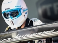 A TF Sport Mechanic during the British GT Championship at Snetterton Circuit. Photo: Jurek Biegus.