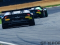 Barwell Motorsport Lamborghini Huracan GT3 with drivers Liam Griffin & Sam Tordoff follows Barwell Motorsport Lamborghini Huracan GT3 with drivers Jon Minshaw & Phil Keen during the British GT Championship Round 9 at  Brands Hatch England on 6 August 2017. Photo by Jurek Biegus.