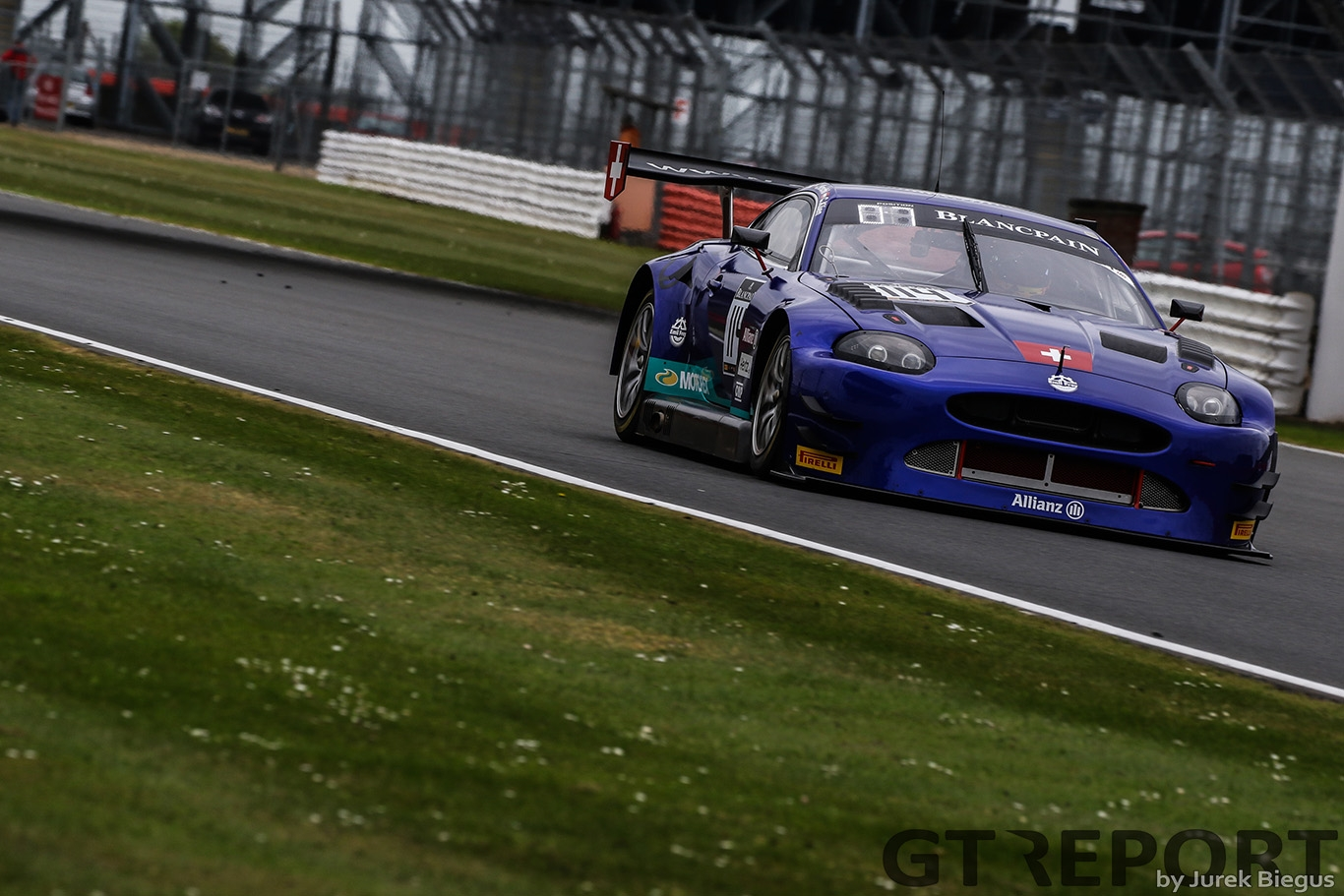 Emil Frey Jaguar Racing | Emil Frey Jaguar G3 | Jonathan Hirschi | Christian Klien | Marco Seefried | Blancpain GT Series Endurance Cup | Silverstone Circuit | 13 May 2017 | Photo by Jurek Biegus.