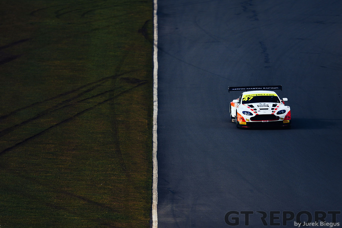 "Graham Davidson: ""I needed a step up; British GT was that"""