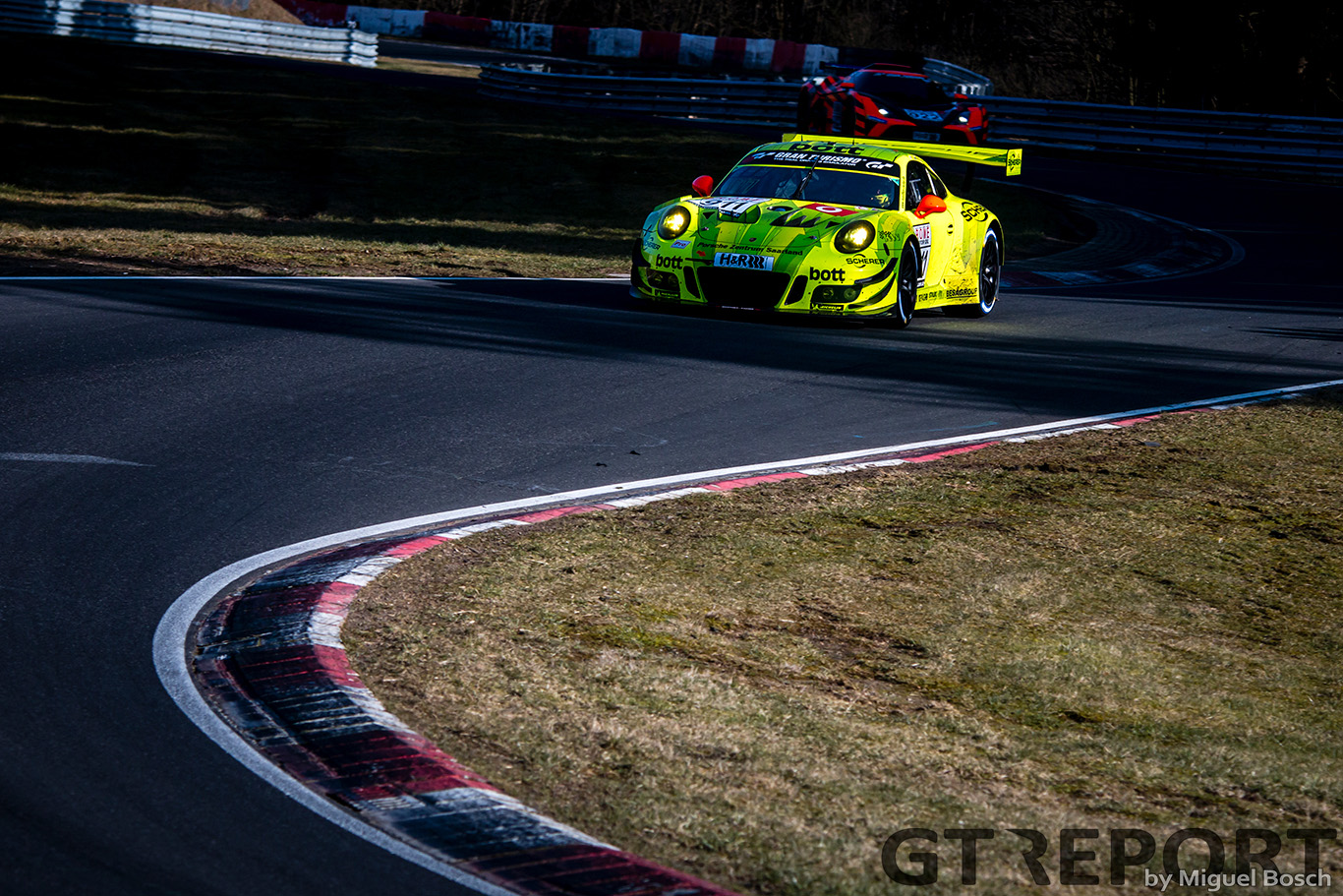 "Laurens Vanthoor: ""One of the best cars I've driven at the Nordschleife"""