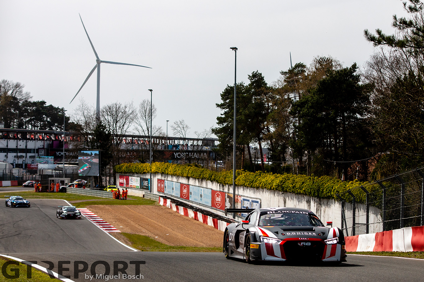 Circuito Zolder : Winward racing russell ward wins on his gt debut at zolder
