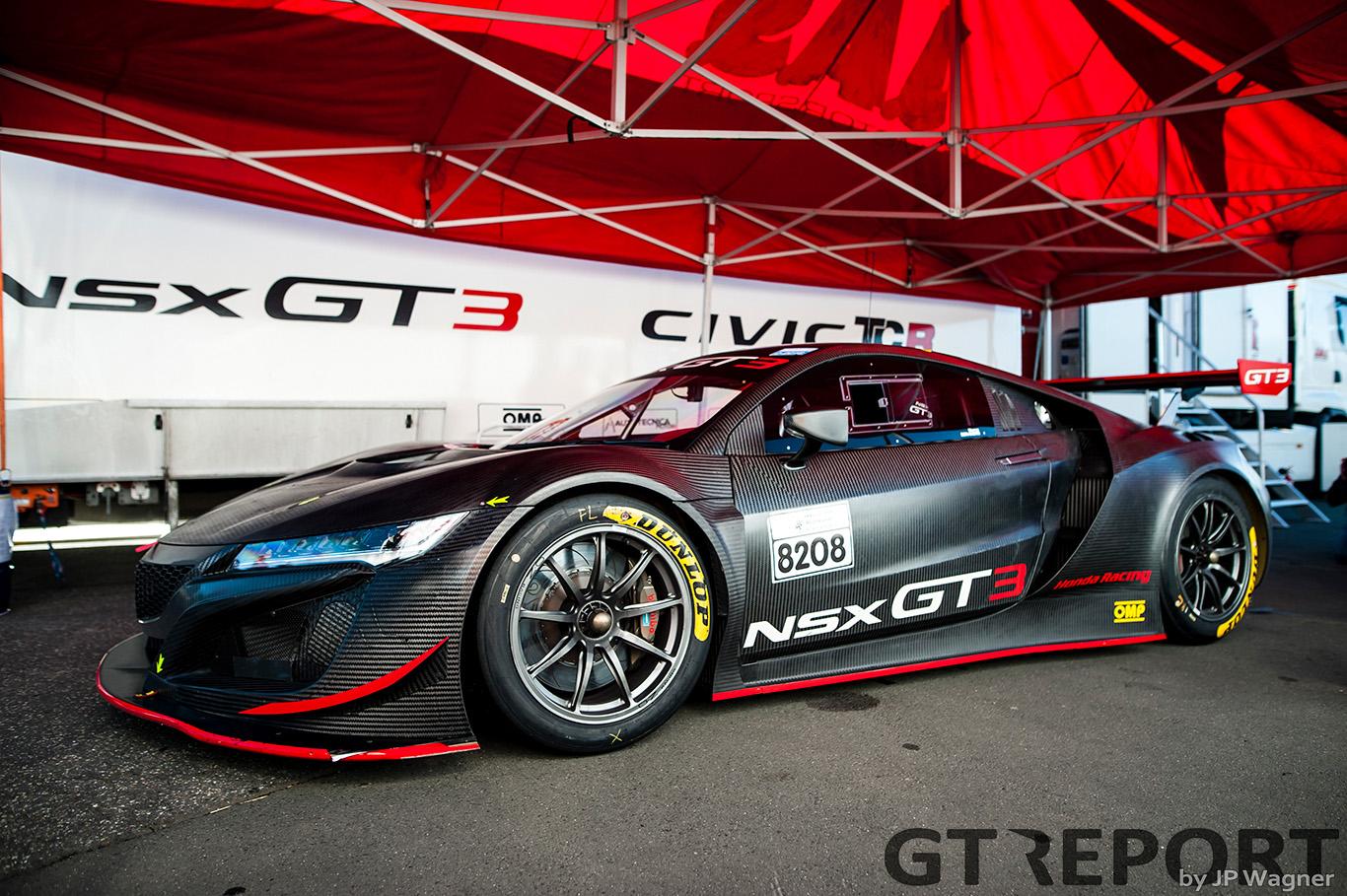 "Marco Bonanomi: ""Honda NSX GT3 feels confident on the Nordschleife"""