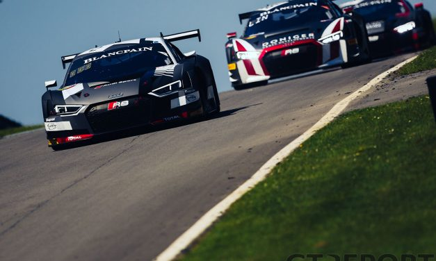Blancpain GT Brands Hatch report and gallery