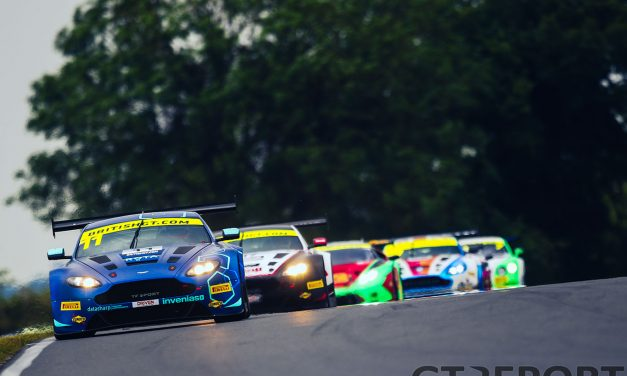 British GT Snetterton race report: Aston Martin Festival