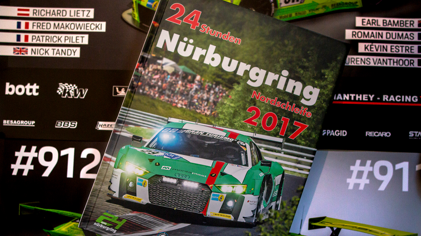Winners Nürburgring 24 Hours Book give-away