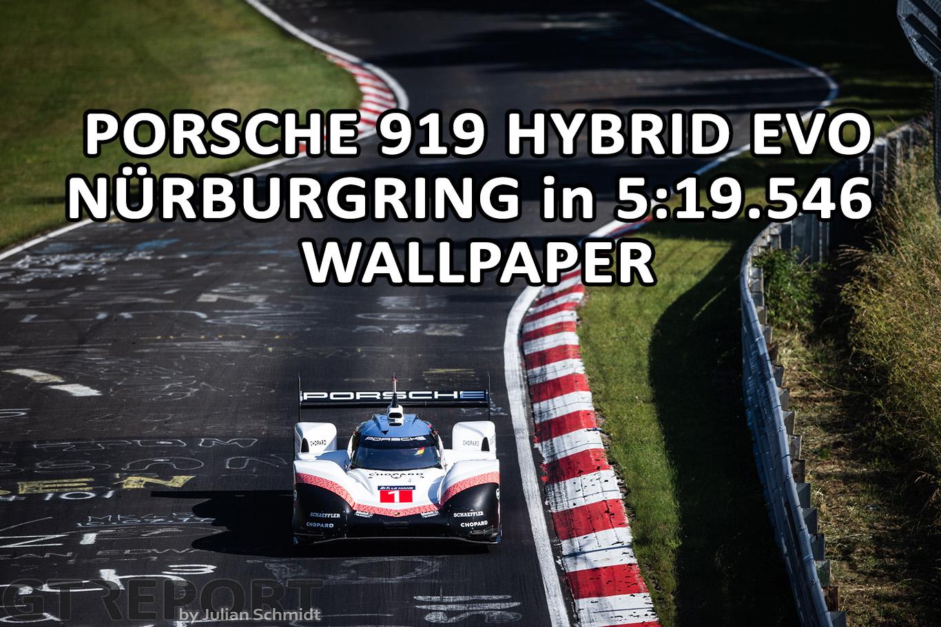Porsche 919 Hybrid Evo wallpaper