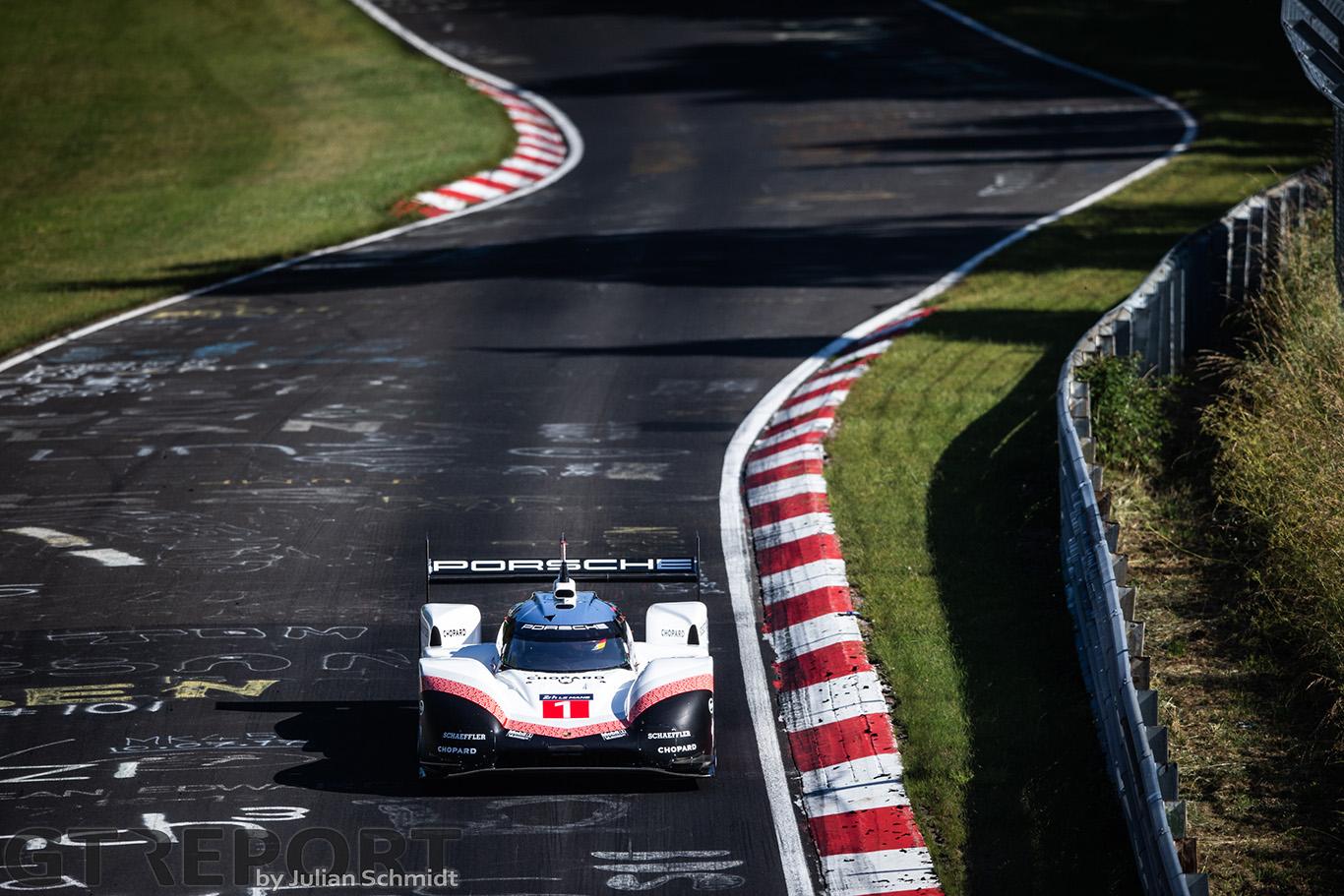 Video Porsche 919 Hybrid Evo Record Breaking Nürburgring Nordschleife Lap Onboard