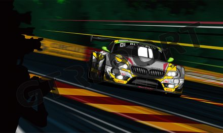 New in our shop: Marc VDS Racing 2015 Spa 24 Hours winner art poster