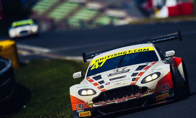 British GT Spa race report: Jetstream secures first victory at chaotic Spa