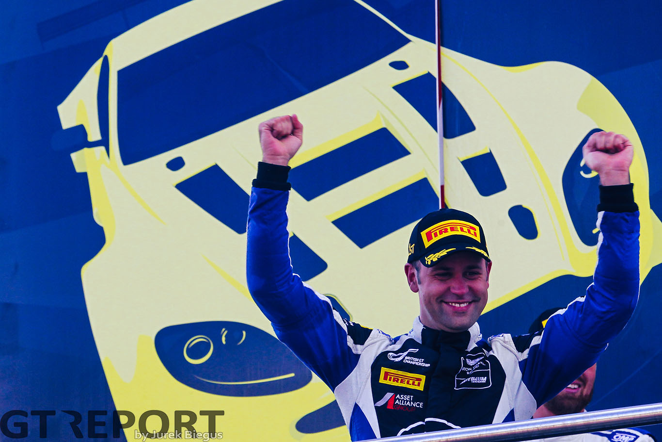 "Jonny Adam: ""Title success is a testament to the Vantage"""