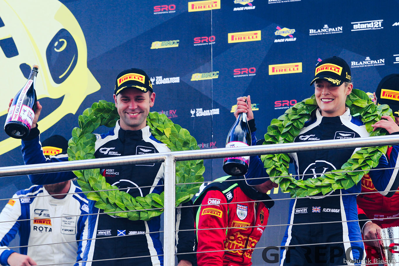 British GT Donington report: Keen & Minshaw win, Haigh & Adam secure title