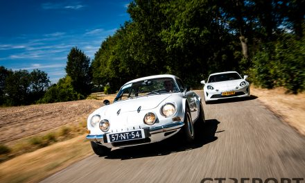 Alpine A110 1976 vs. 2018 gallery