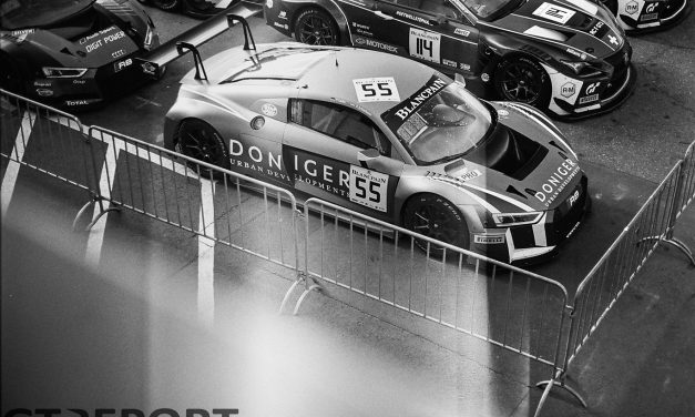 Shot on film: Blancpain GT at the Nürburgring