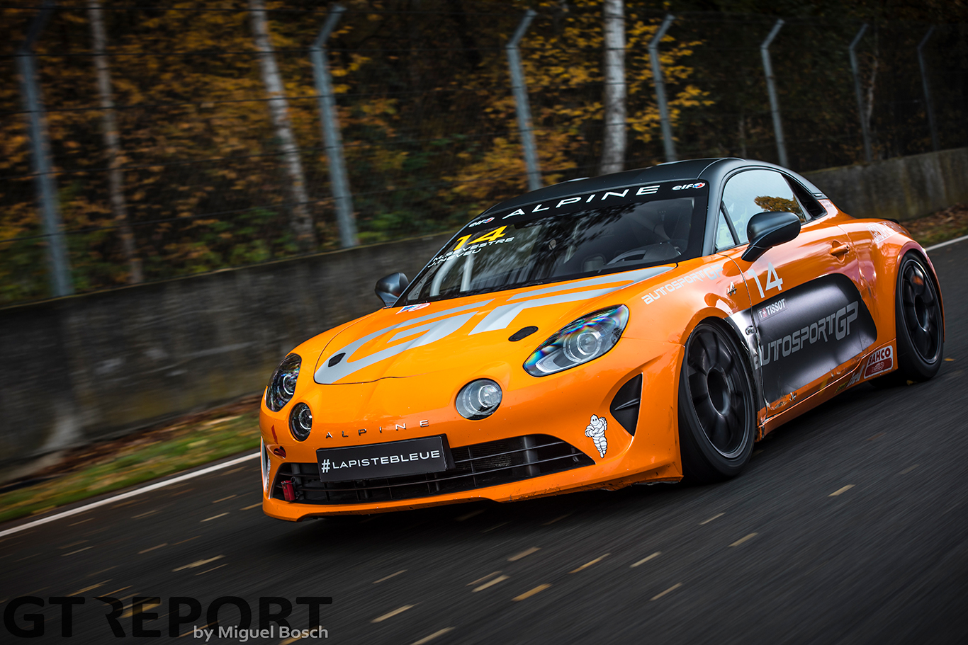 Alpine A110 Cup track test