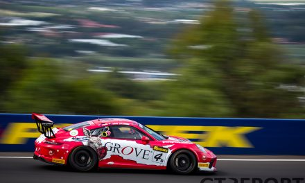 """Brenton Grove: """"Bathurst win a blur after getting sick in the car"""""""