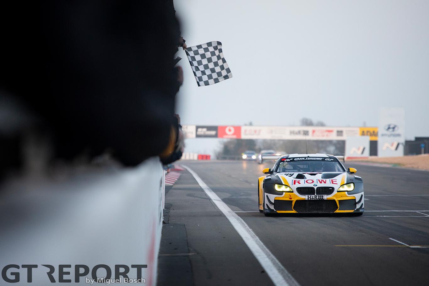 Rowe Racing wins shortened VLN1