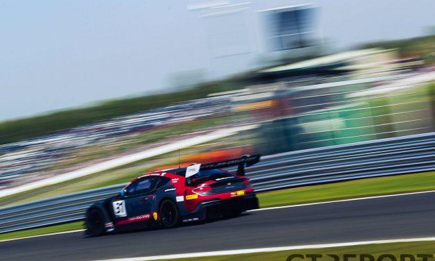 British GT Oulton Park: JRM dominate opening encounter after crash