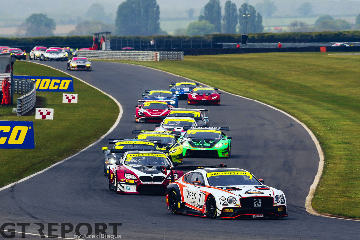 British GT Snetterton notebook