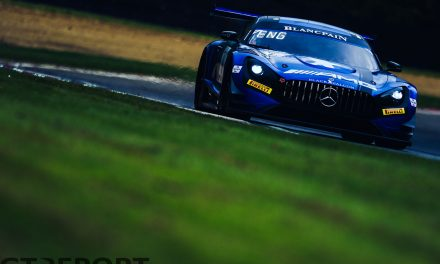 Blancpain GT Brands Hatch: Mercedes take double pole in disrupted qualifying