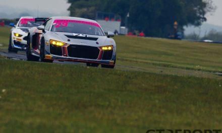 Steller GT4 Audi back in British GT