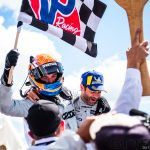 """Harry Tincknell: """"I finally lunged down the inside and we had contact, but rubbing is racing"""""""