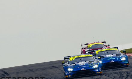 British GT Donington Park: Adam & Davidson avenge Silverstone DNF with thrilling win