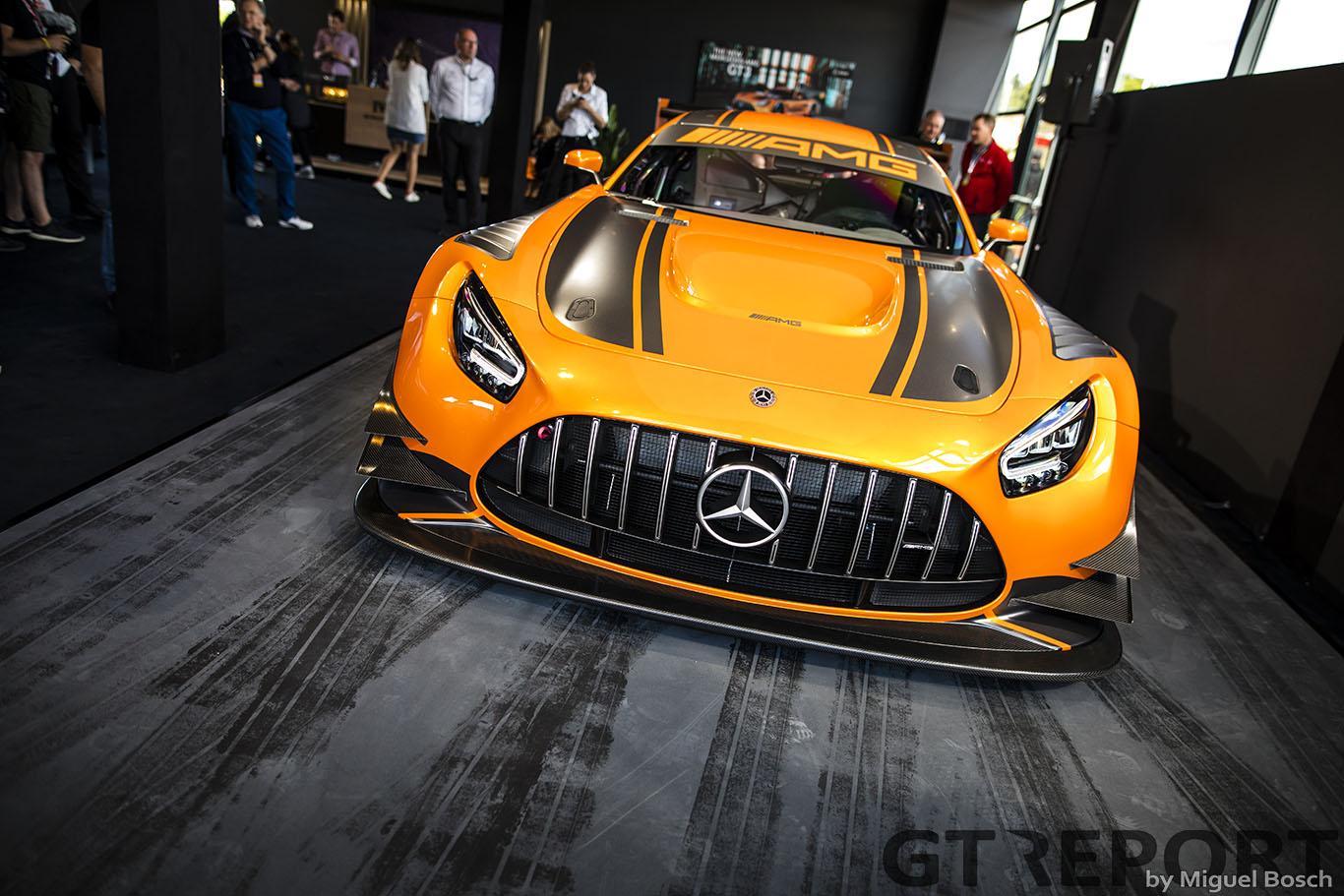 Mercedes-AMG GT3 Evo 2020: Improvement in detail