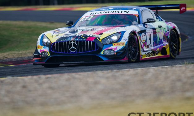 Spa 24 Hours: Black Falcon Mercedes edges Porsche to secure top spot in Super Pole