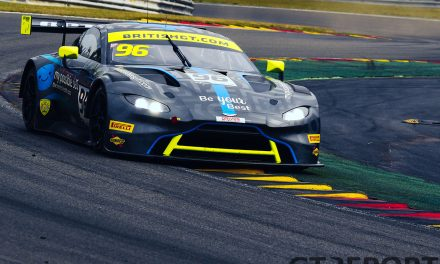 British GT Spa: Rain mastery gives Wilkinson & Ellis maiden championship pole
