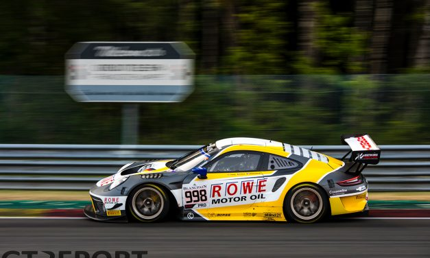Spa 24 Hours: Rowe Racing leads as yellow flags dominate opening three hours