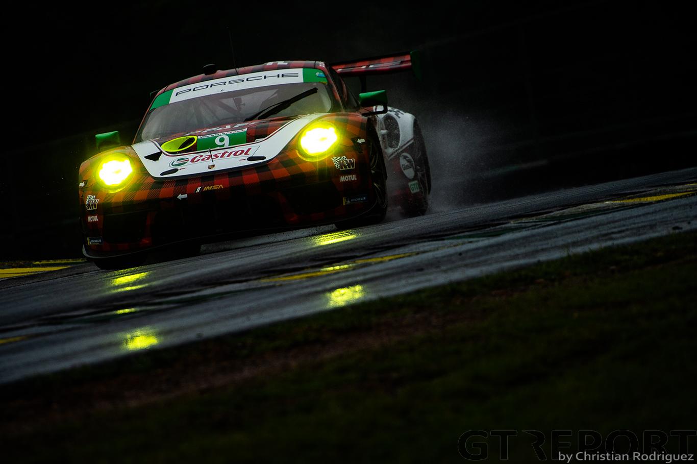 IMSA VIR: Porsche locks out GTLM and GTD poles