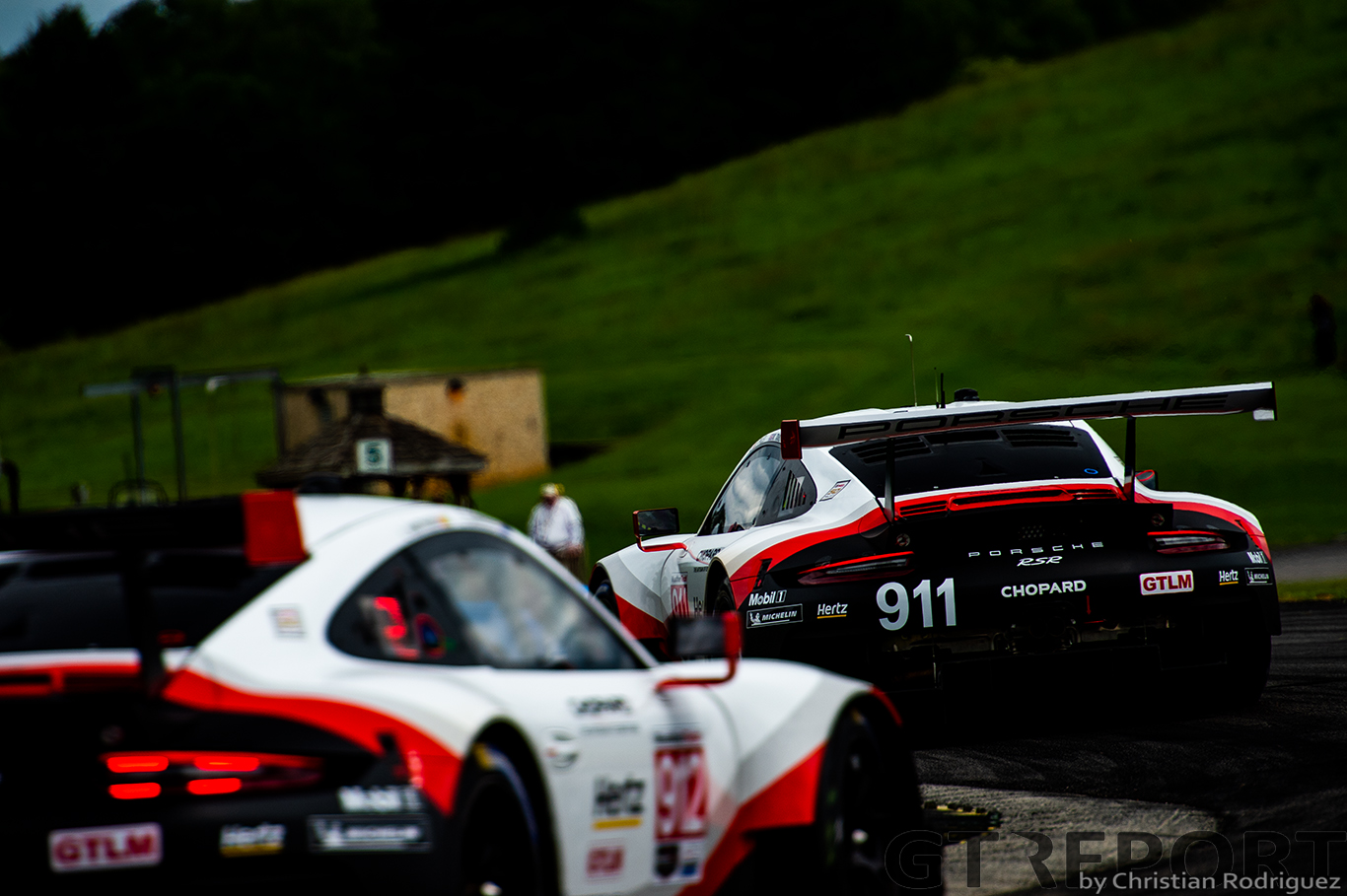 IMSA VIR: Porsche goes 1-2, Riley stealths to GTD victory