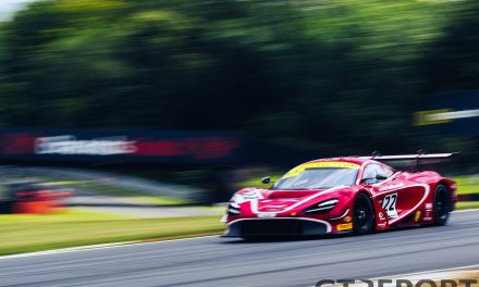 British GT Brands Hatch: Balfe Motorsport storms to maiden pole