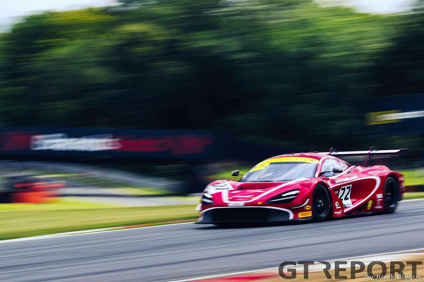 British GT Brands Hatch: Balfe Motorsport storms to maiden pole