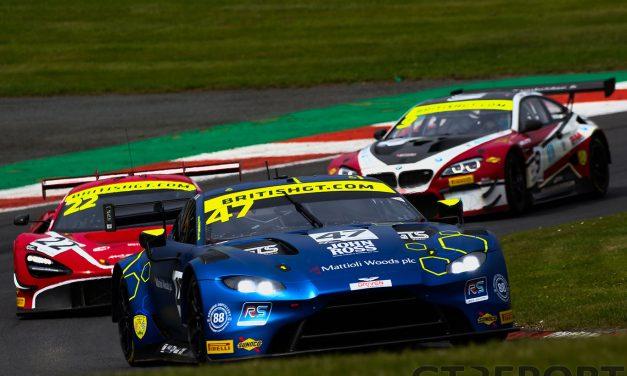 British GT Brands Hatch: Davidson & Adam reignite championship chance with dominant win