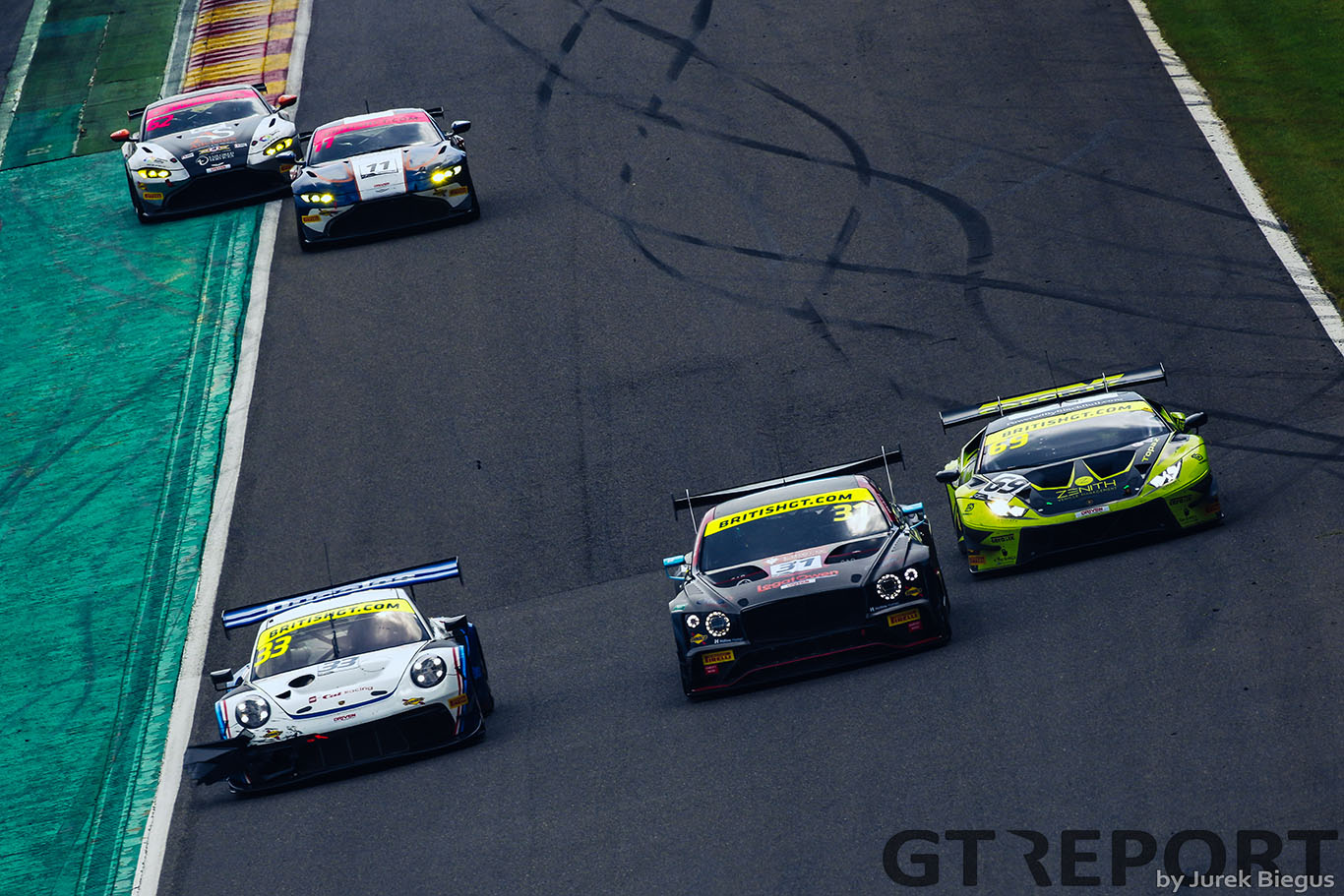 British GT Brands Hatch entry list