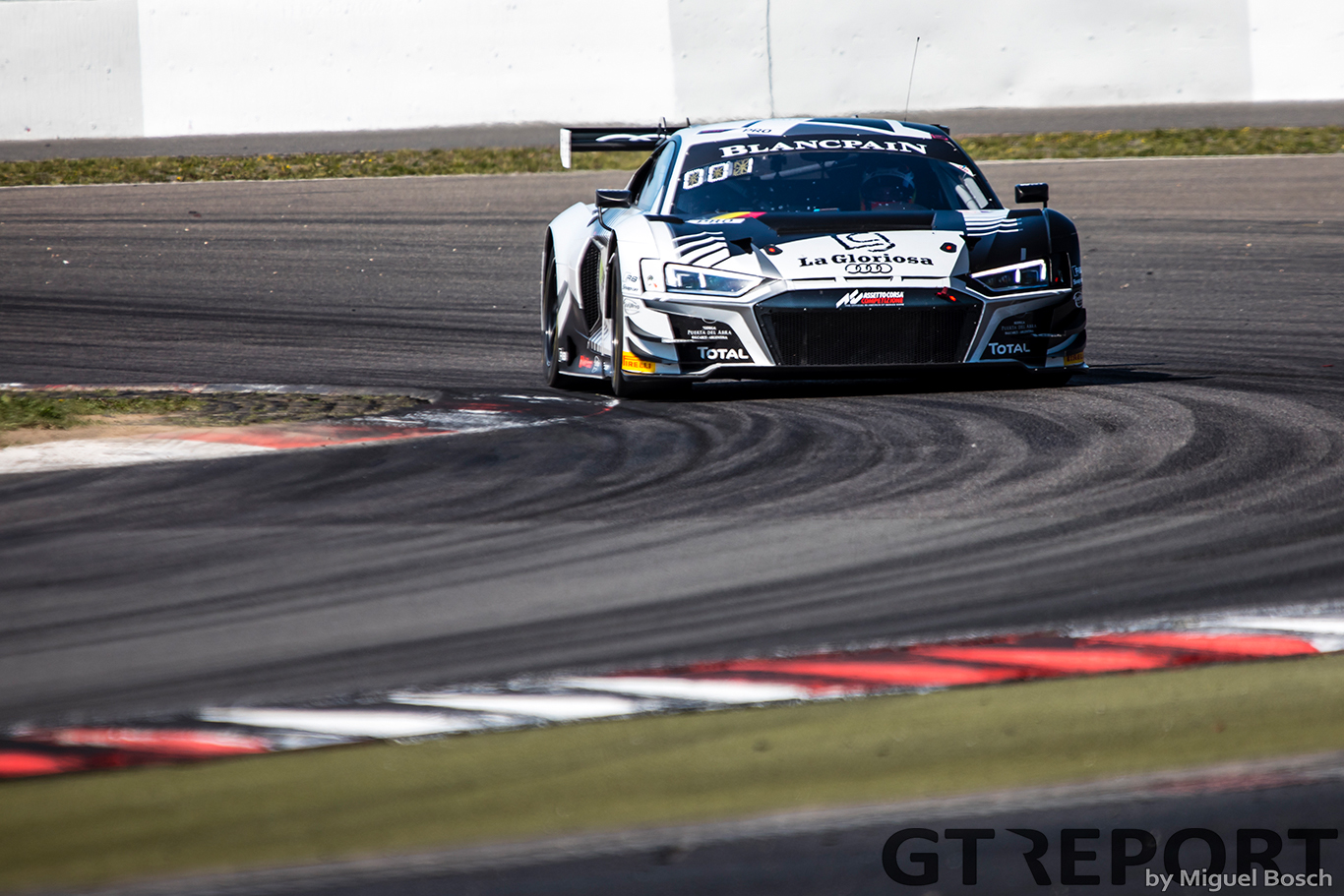 Blancpain GT Nürburgring: Audis lead the way in Friday practice