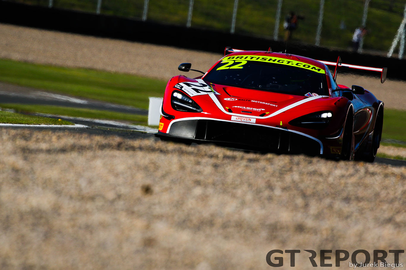 British GT Donington Park: Balfe and Steller storm to final poles of 2019