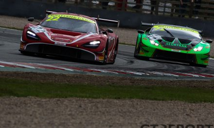 British GT Donington Park: Balfe wins the race, TF Sport claim the titles