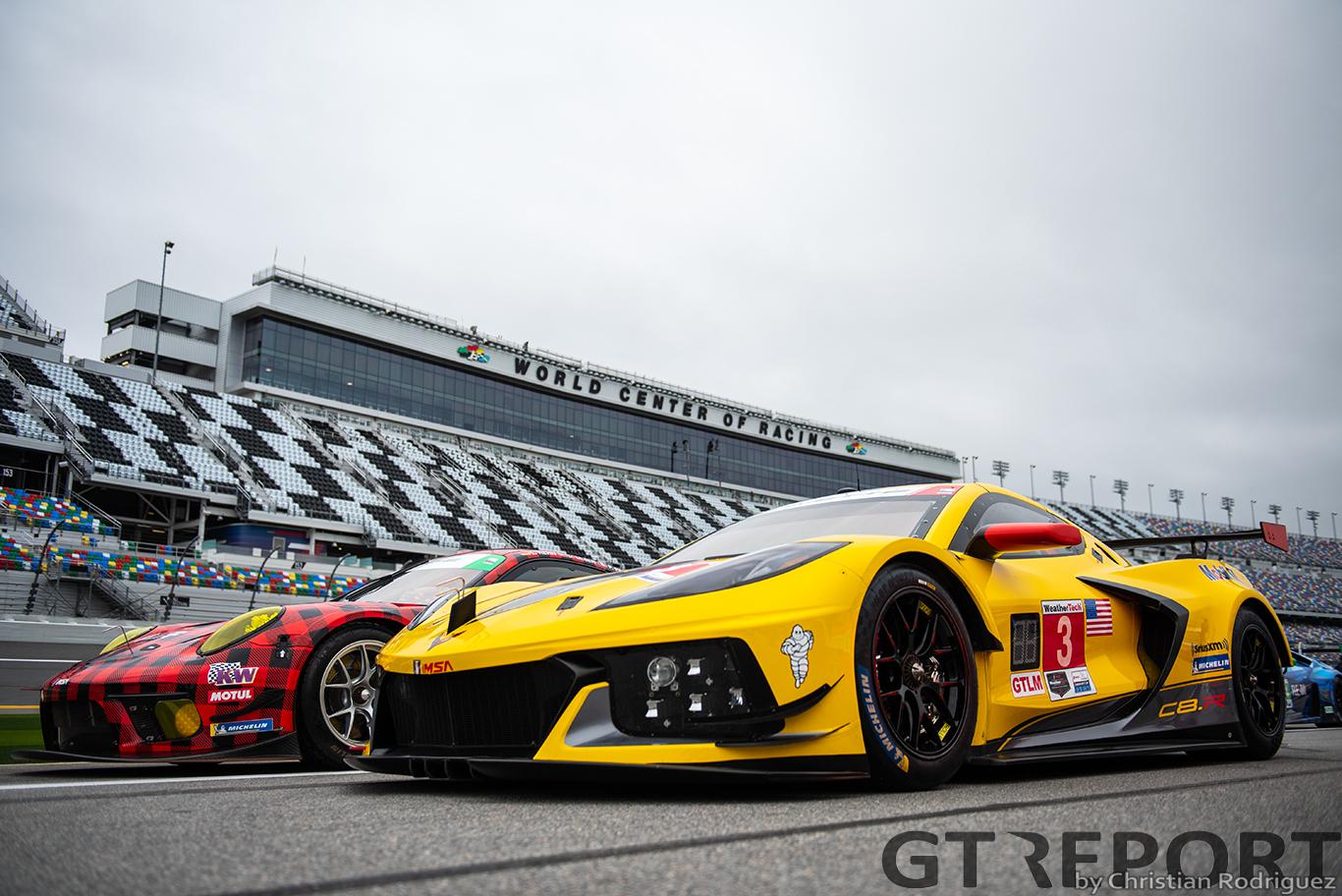 Corvette C8.R: Racecar first, road car second
